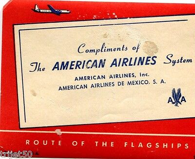 American Airlines System Luggage Label