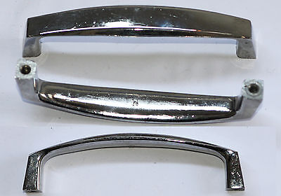 Two Large Chrome Handles