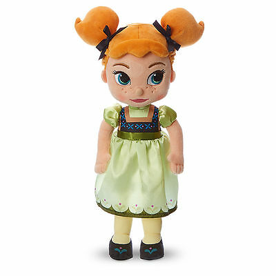 "Disney Store Authentic Frozen Princess Anna Animators Collection 13"" Plush Doll"