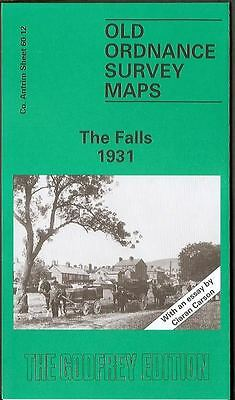 Highly Detailed Ordnance Survey Map, The Falls (Belfast) 1931