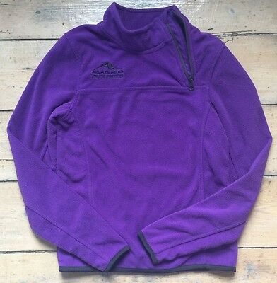 Girls Crivit Sports Purple Fleece Top Size 134/140 Age 9-10 Years Walking ski