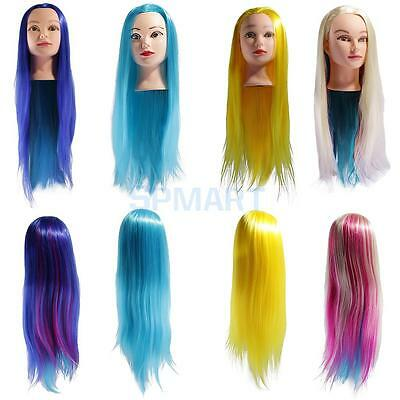 Hair Styling Cut Braiding Cosmetology Mannequin Hairdressing Training Head Dummy
