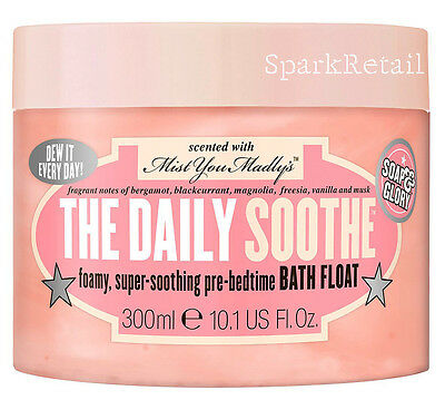 Soap and Glory THE DAILY SOOTHE Pre-Bedtime Bubble Foam BATH FLOAT 300ml