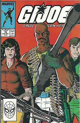 G.i.joe: A Real American Hero #78  (Marvel) (1988) Vf+