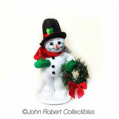 Annalee Dolls Christmas Cozy Christmas Snowman 5 In