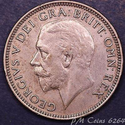 1933 George V KGV Silver 500 Shilling 1/- coin *[6264]