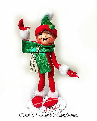 Annalee Dolls Christmas Red Holiday Twist Elf 9 In