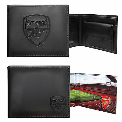Arsenal FC Official Football Gift Embossed Crest Wallet