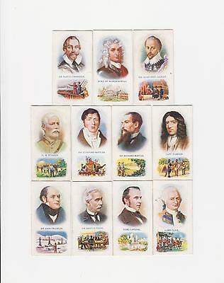 BUILDERS of the BRITISH EMPIRE   (PATTREIOUEX  TOBACCO CARDS). (1)