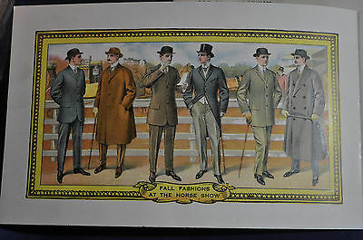 1911 FH Loughlin Clothes Catalog, Stern & Sons, NY ORIGINAL ENVELOPE