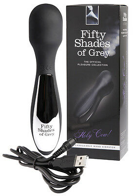 Vibratore speciale massaggiatore Fifty Shades of Grey Holy Cow! Rechargeable ...