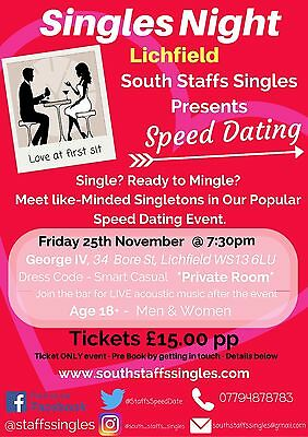 Speed Dating Event Tickets
