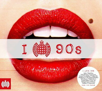 I LOVE THE 90s (Ministry of Sound) (Best Of / Greatest Hits) 3 CD SET (2016)