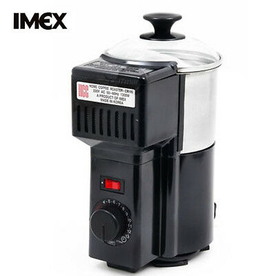 New IMEX CR-100 Home Coffee Roaster Stainless Smokeless / 220~240V+ Free Express