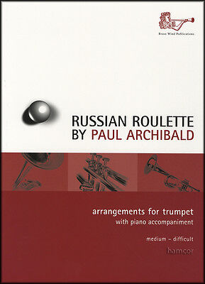 Russian Roulette Arrangements for Trumpet & Piano Sheet Music Book