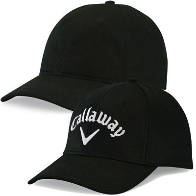 Callaway Golf 2017 Mens Crest Unstructured Adjustable Cotton Cap Baseball Hat