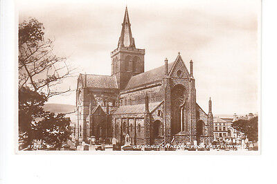 St Magnus Cathedral from the east, Kirkwall, Orkney
