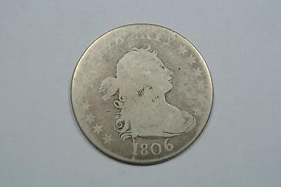 1806 Draped Bust Quarter, Good Condition - C269