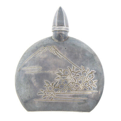 Vintage Chinese Export 950 Sterling Silver Perfume Bottle