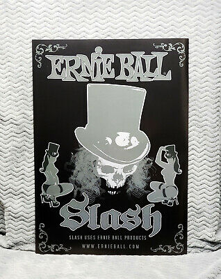 THREE 3 Slash Ernie Ball Promo Posters<<>>Guns N' Roses