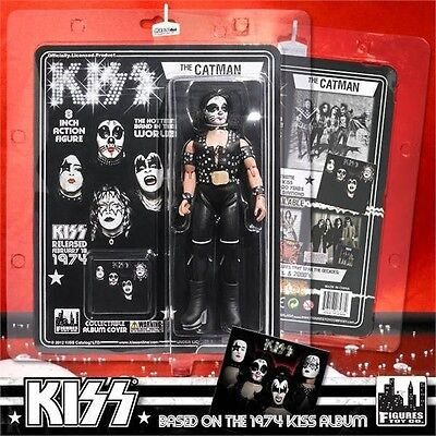 KISS First Album 8 Inch Action Figure Series 2 Peter Criss Catman