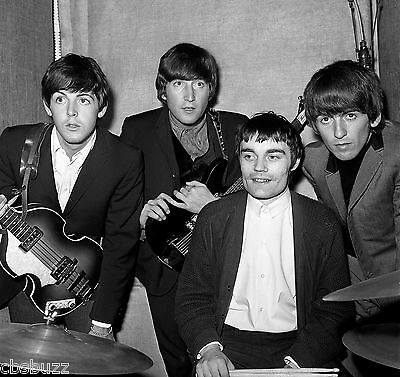 THE BEATLES - MUSIC PHOTO #3 - RARE PHOTO WITH DRUMMER Jimmie Nicol