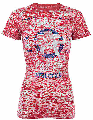 American Fighter AFFLICTION Womens T-Shirt LIPSTICK Tattoo Biker UFC Sinful $40