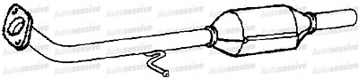 Mercedes Vito 109 110 111 115 2.2Cdi Van 06 To 2010 Exhaust Catalytic Converter