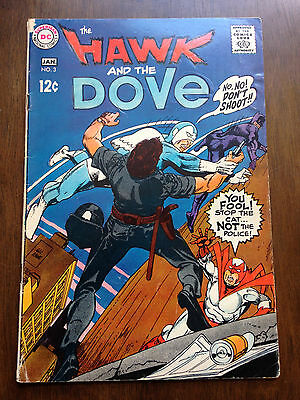 Hawk And Dove # 3 Very Good-  Dc Comics Gil Kane Silver Age