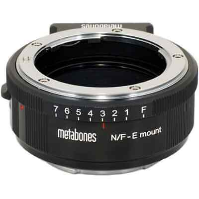 Metabones Nikon G Lens to Sony NEX Camera Lens Mount  (Matte Black) MB