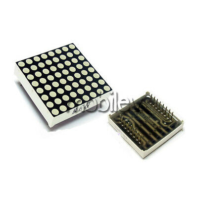 1 pc LED Dot Matrix Display 16pin 8x8 3mm Red Common Anode