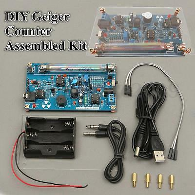DIY Assembled Geiger Counter Kit For Nuclear Radiation Detector Beta Gamma Ray