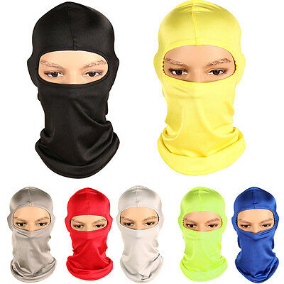 Candy Color Face Mask Thermal Bike Ski Motorcycle Neck Warmer Helmet Balaclava