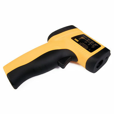 Non-Contact IR Infrared Industrial Thermometer Temperature Meter GM300 TE33