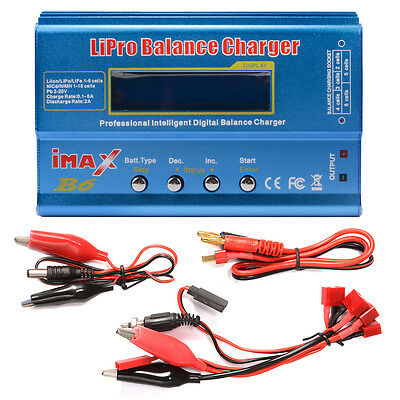 i-MAX B6 Charger Professional Digital RC Lipo NiMh Battery Balance Charger RC194