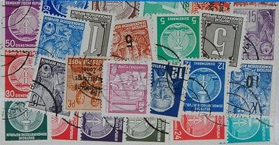 25 DDR (L68) Stamps