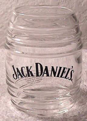 Jack Daniels ORIGINAL LICENSED (GLASS BARREL SHOT GLASS) Brand New