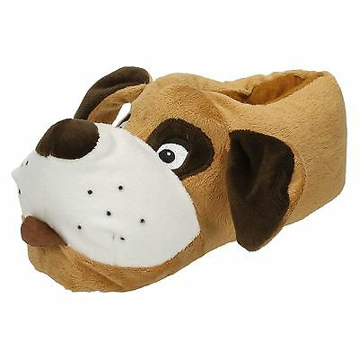 Kids Spot On Dog Slippers  Style - X2073