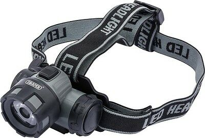 Draper 51295 1W Led Head Lamp (3 X Aaa Batteries)