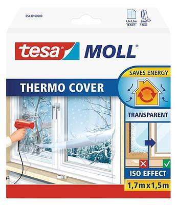tesamoll® Thermo Cover Fensterisolierfolie 4 x 1,5 m
