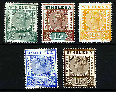 ST. HELENA Queen Victoria 1890 to 1897 Part Set to 10d. SG 46 to SG 52 MINT