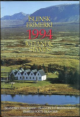 Iceland Yearpack 1994 MNH