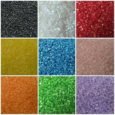 30g Glimmer Glitter Yellow White Green Red Pink Sugar Sand Cake Sprinkles Decora