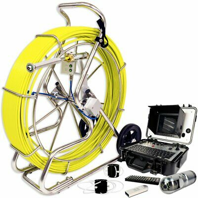 Video Snake 3288PT-1 393' Pipe Self Leveling Inspection Camera w/ Transmitter
