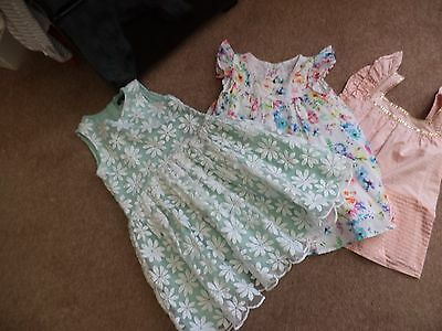 girls dress, bundle age 2-3 years autograph marks & spencer