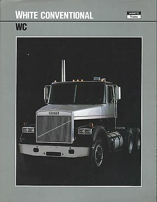 Truck Brochure - White - WC - Conventional  (T1774)