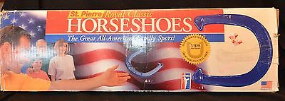 St. Pierre Royal Classic Horseshoes Blue & Silver