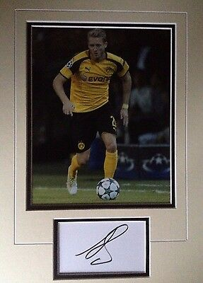Andre Schurlle - Dortmund Footballer - Excellent Signed Colour Photo Display