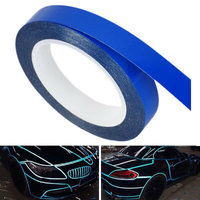 Blue 9m DIY Decorative Safety Reflective Warning Roll Strip Tape for Car Truck