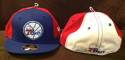 check out 938e1 511be Philadelphia 76ers New Era 59FIFTY NBA Fitted Hat Hardwood Classics Retro 7  3 8